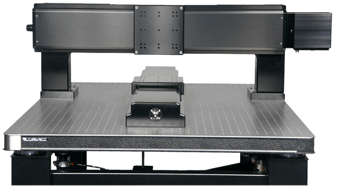 Split Gantry System using two 650mm long travel stages