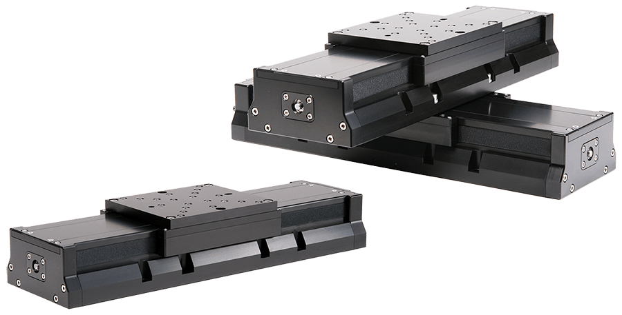 LSN Series Linear Stages with one being in Stacked X-Y Configuration
