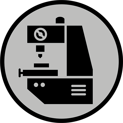Icon that represents metrology inspection